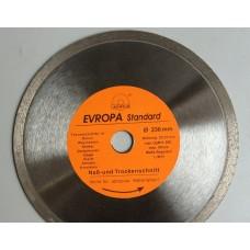 """Диск алмазный """"Evropa"""" 230*22.2 мм по плитке"""