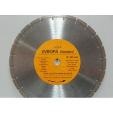 """Диск алмазный """"Evropa"""" 350*25.4 мм сегментный"""