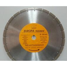 """Диск алмазный """"Evropa"""" 350*32 мм сегментный"""