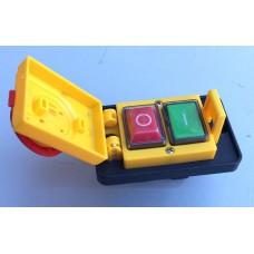 Кнопка бетономешалки с крышкой (магнитный пускатель) 4 контакта