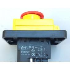 Кнопка бетономешалки с крышкой (магнитный пускатель) 5 контактов