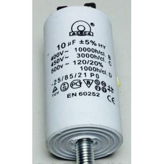 Конденсатор 10 mF 450 V с винтом