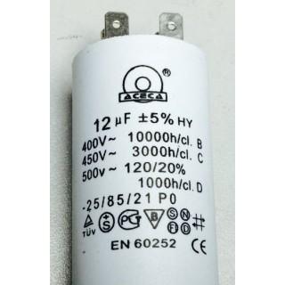 Конденсатор 12 mF 450 V