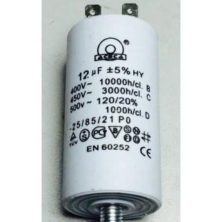 Конденсатор 12 mF 450 V с винтом