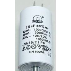 Конденсатор 16 mF 450 V с винтом