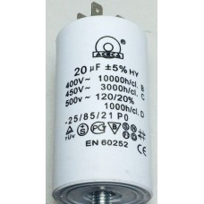 Конденсатор 20 mF 450 V с винтом