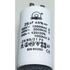 Конденсатор 25 mF 450 V