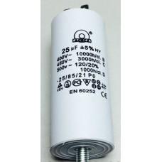 Конденсатор 25 mF 450 V с винтом