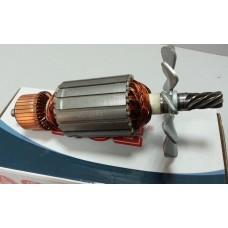 Якорь (ротор) для пила монтажная Makita 2414NB (194*54/ 7-з лево)