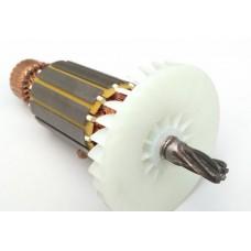 Якорь (ротор) пила дисковая Интерскол ДП 165-1200 новый (166*41 / 6 - право)