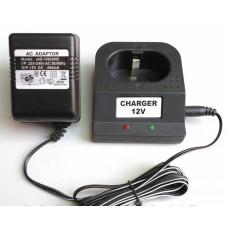 Зарядное устройство для аккумуляторных батарей шуруповерта 12 V (2 контакта)
