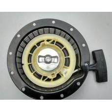Стартер (кикстартер) электрогенератора 166 F (глубокий,12 отверстий)